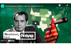 Bloomberg: How Marijuana Is Both Legal and Illegal in the U.S.