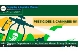 Webinar – Green Light Law Group – Pesticides & Cannabis