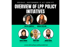 Overview of LPP Policy Initiatives