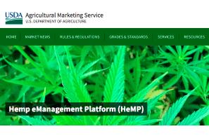 New USDA Hemp eManagement Platform (HeMP)